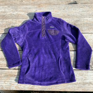 Patagonia Purple Fleece Pullover Girls Size Small for Sale in Austin, TX