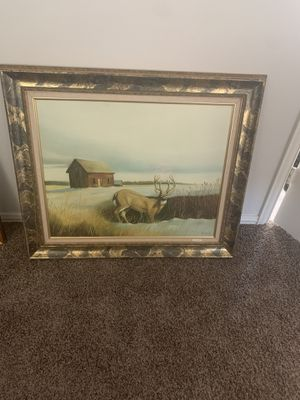 Bob Erwin limited edition signed oil painting for Sale in Midland, TX
