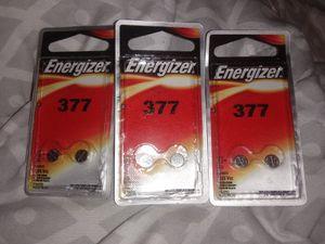Watch batteries 377 for Sale in Abilene, TX