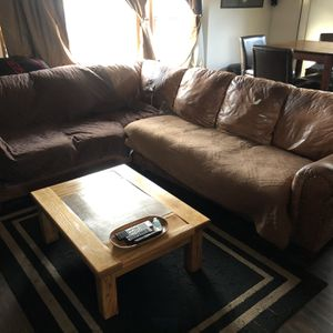 Free Leather Couch for Sale in Chino Hills, CA