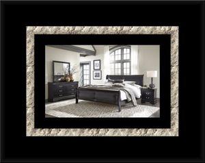 11pc black Marley bedroom set for Sale in Ashburn, VA