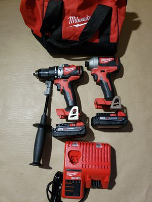 Milwaukee M18 Brushless Hammer Drill Kit for Sale in Greenville, SC