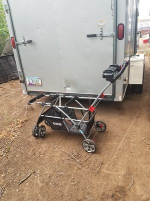 Doggy stroller converted from a child stroller for twins will hold two small dogs very comfortable safe easy to use $55 for Sale in Phoenix, AZ