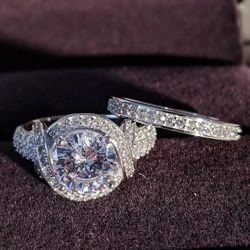 Stunning Sterling Silver 925 Wedding ring for Sale in Covington,  GA