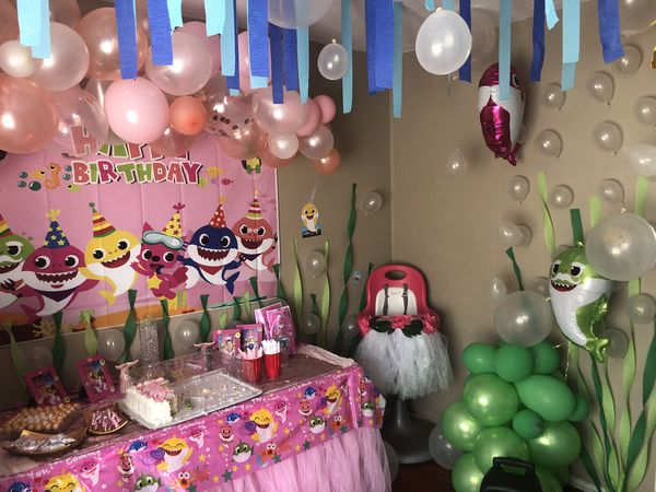 Children party set up