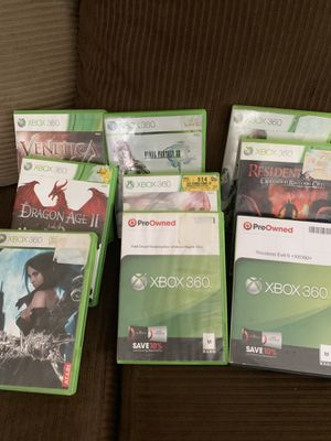 XBOX 360 Games for Sale in Richardson, TX
