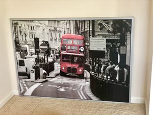 NEW London Bus Framed Picture (Large) for Sale in Rockville, MD