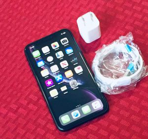 """iPhone XR ,,Factory UNLOCKED Excellent CONDITION """"as like nEW"""" for Sale in West Springfield, VA"""