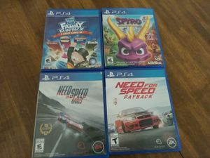 Ps4 games for Sale in Spanaway, WA