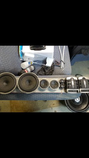 Hertz Audio High Energy 3 speaker componet set for Sale in S CHESTERFLD, VA