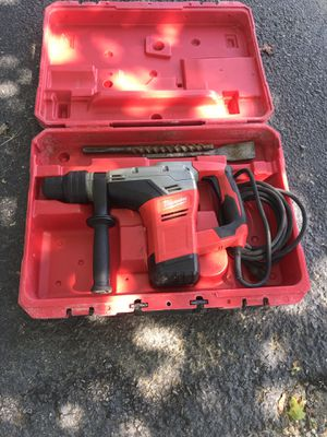 Milwaukee rotary hammer drill like new for Sale in Beltsville, MD