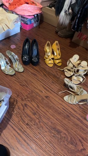 Heels $20 for all. Size 5 for Sale in Los Angeles, CA