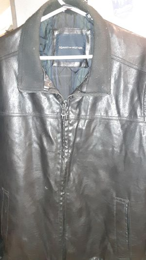 Tommy Hilfiger leather jacket for Sale in Everett, WA