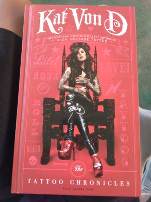 Kat Von D The tattoo chronicle for Sale in Fort Meade, FL