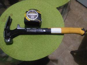 DeWalt Hammer and fatmax tape for Sale in Nashville, TN