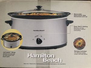 Hamilton Beach Slow Cooker for Sale in Rockville, MD
