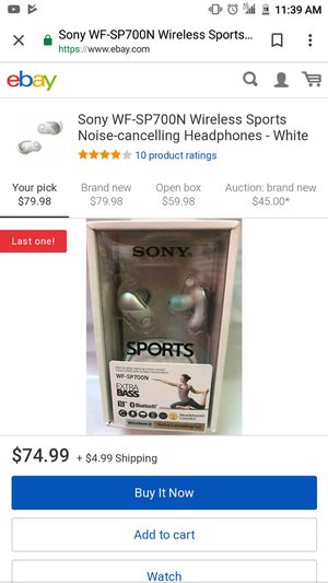 Sony sport Headphones new for Sale in Bell, CA
