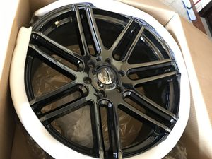 Vogue Rims 22' Black Eco-Plate V379 for Sale in Downey, CA