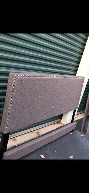 Headboard Footboard Rails Mattress Boxspring for Sale in Snellville, GA