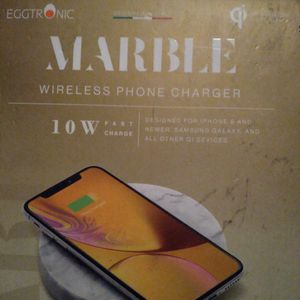 Eggtronic Marble Wireless Phone Charger (New) for Sale in Whittier, CA