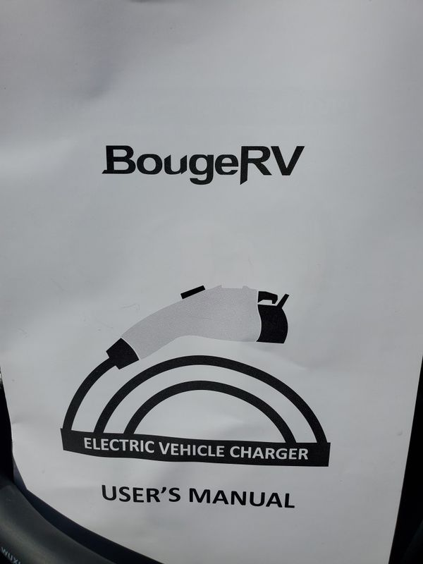 $185 BOUGE RV ELECTRIC CAR CHARGER