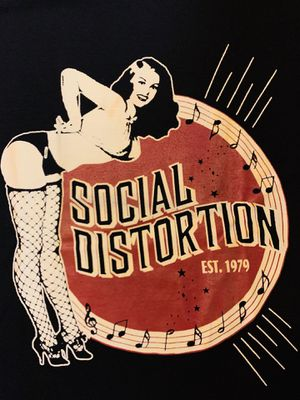 SOCIAL DISTORTION SHIRT (s,m,l,xl) for Sale in San Diego, CA