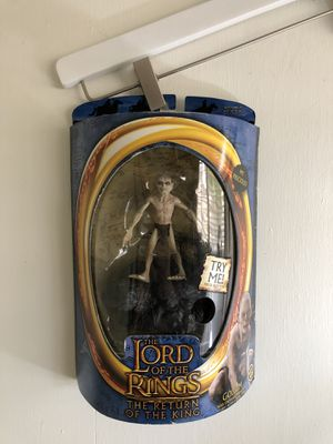Lord of the Rings action figure Gollum for Sale in Las Vegas, NV