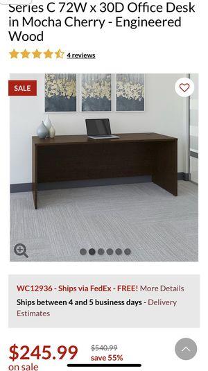 Bush series C shell desk for Sale in Selma, CA