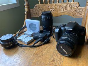 Canon T2i w/ bonus accessories for Sale in Austin, TX