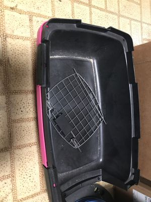 Small pink and black dog crate for Sale in Cincinnati, OH