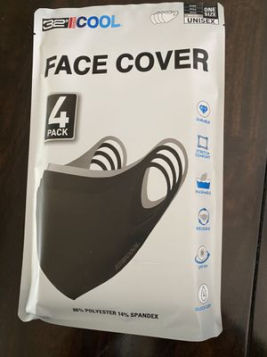 Face Cover/Mask—-4 Pack for Sale in San Jose, CA