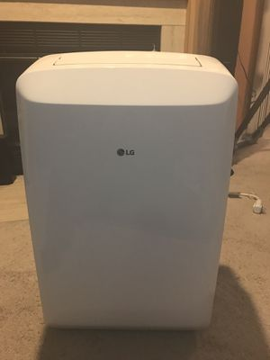 LG LP0817WSR 115V Portable Air Conditioner with Remote Control in White for Rooms up to 150-Sq. Ft. for Sale in Greenbelt, MD