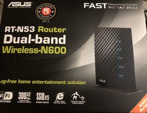 ASUS RT-N53 Wireless Router - Dual Band for Sale in Los Angeles, CA