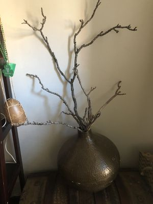 Deco Vase with accessory sticks for Sale in Laurel, MD