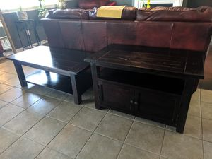 Coffee table and TV stand set for Sale in Fresno, CA