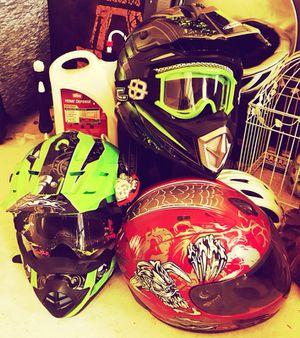 Motorcycle or dirt bike helmet for Sale in Austin, TX