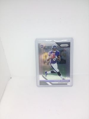 Lamar Jackson 2018 Prizm rookie card for Sale in North Ridgeville, OH