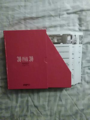 ESPN 30 FOR 30 DVD Box Set *Brand New* for Sale in Milton, PA