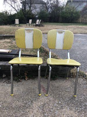 Vintage Virginia House 1950s Handle Back Diner Chairs Set (2) for Sale in Nashville, TN