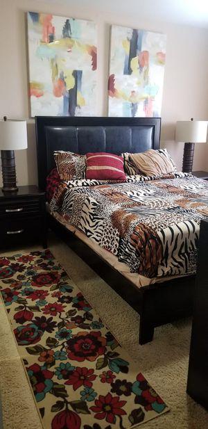 6PC QUEEN BEDROOM SET (NO MATTRESS) for Sale in Scottsdale, AZ