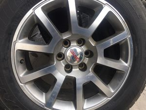 """GMC 20"""" rims and tires for Sale in Dinuba, CA"""