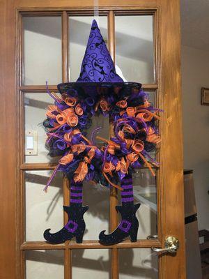 Halloween wreath for Sale in Garland, TX