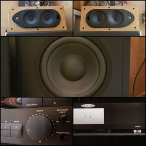 PREAMP AMPLIFIER SPEAKERS SUBWOOFER ➡️ PLEASE READ AD ⬅️ for Sale in Maricopa, AZ