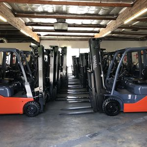 Largest Selection of Low Hour Toyota Forklifts for Sale in Mount Baldy, CA