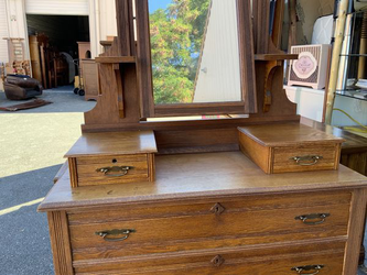 Gentleman's Eastlake Vanity Dresser - Delivery Available for Sale in Tacoma,  WA