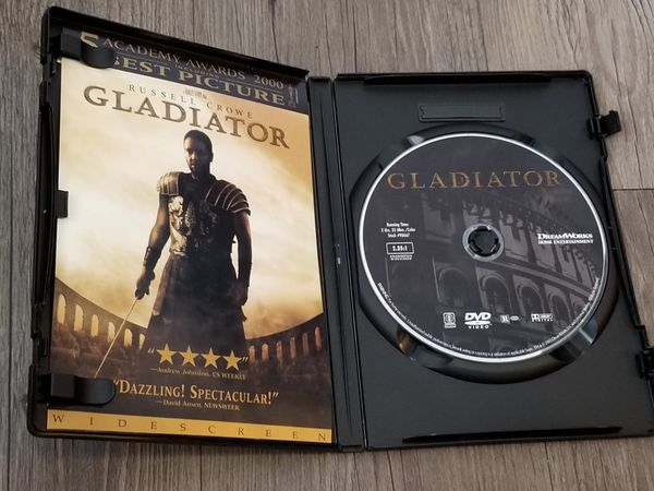 Gladiator (DVD, Widescreen, 2003), Used