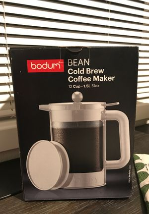 Bodum Bean cold Brew Coffee Maker 12 cup for Sale in San Bernardino, CA