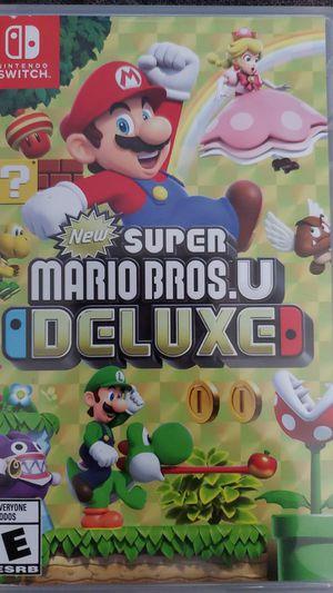Nintendo Switch super mario deluxe for Sale in Santa Ana, CA