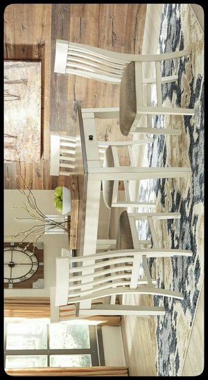 🍽Ashley🍽 Bardilyn Antique White/Brown Dining Set for Sale in Baltimore, MD