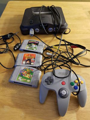 Nintendo 64 with Super Mario for Sale in Seven Hills, OH